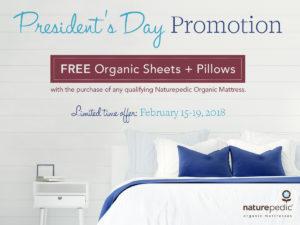 Naturepedic Promotion