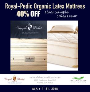 Sale May Natural Sleep Mattress Royal-Pedic