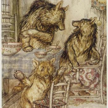 Goldilocks and the Three Bears - Hastens Auroria