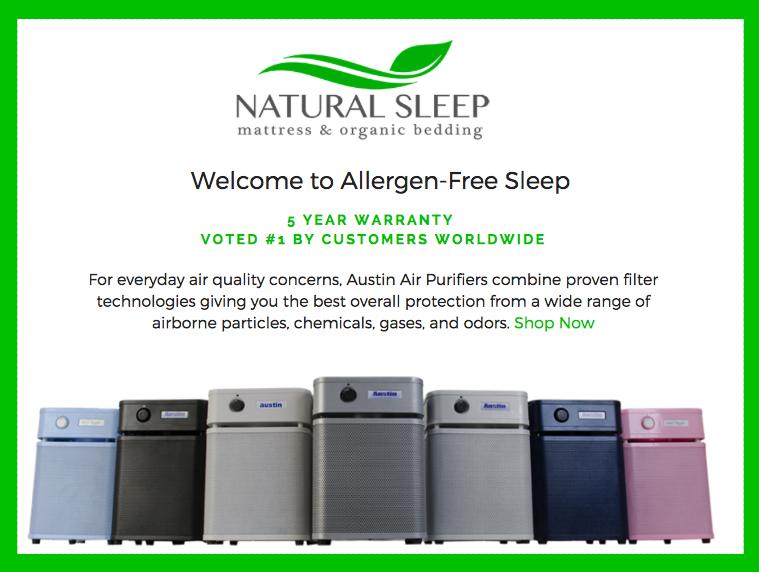 Austin Air Purifiers | Natural Sleep Luxury & Organic Mattress
