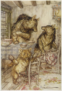 Goldilocks and the Three Bears - Hastens Auroria