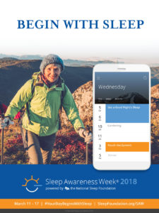 Sleep Awareness Week 2018 is March 11 to 17 - natural organic mattresses