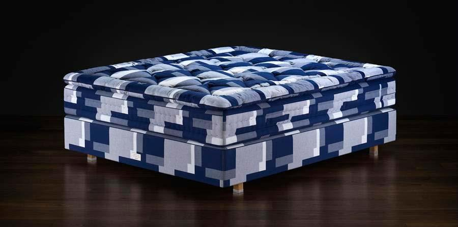 Updating the classic look of the Hästens mattress - Hästens mattresses