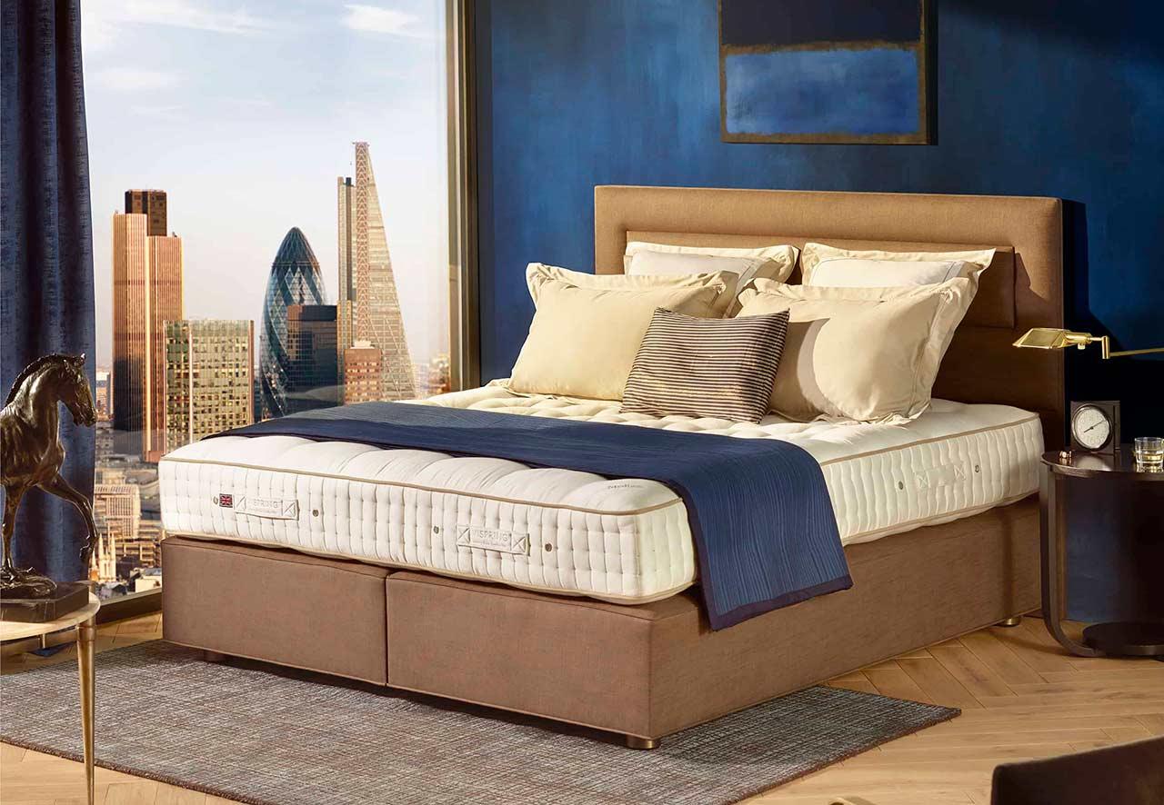 Vispring Tiara Superb Mattress | Natural Sleep Luxury ...